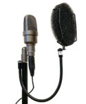 Version 3 - shown mounted to stand with microphone